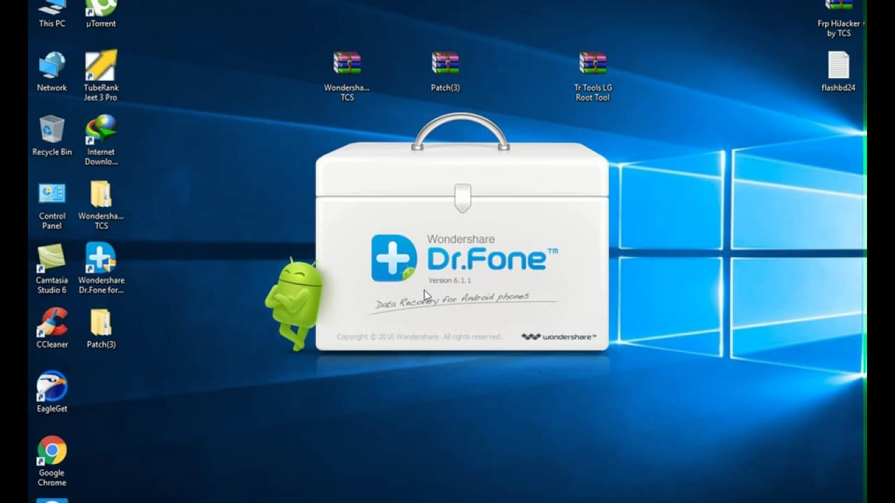 برنامج dr.fone – Root